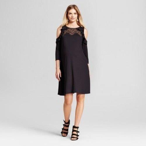 1b68671ff00 Women's Plus Size Striped Long Sleeve Ruffle Wrap Midi Dress - Who ...