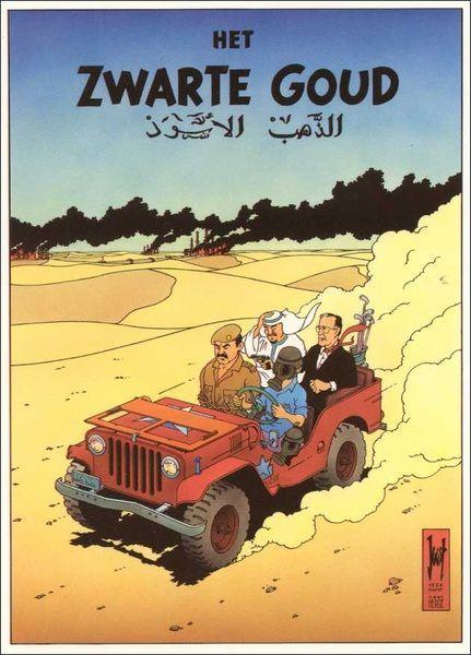 Les Aventures de Tintin - Album Imaginaire - Zwarte Goud