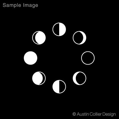 clipart moon phases - Google Search | moonchild | Moon ...