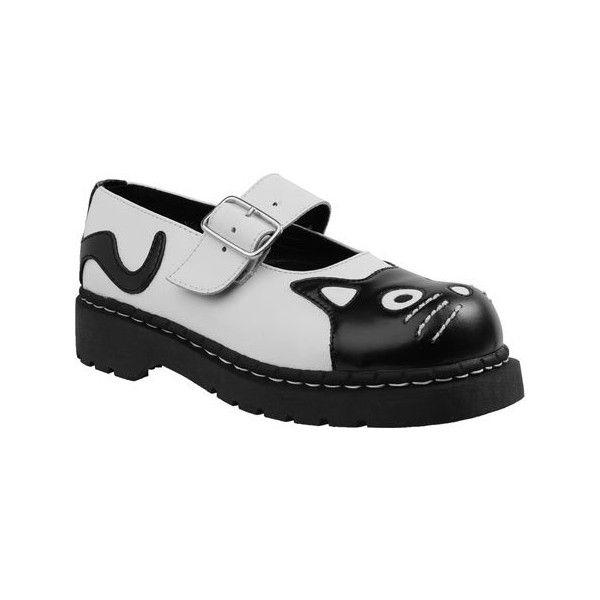 T.U.K. Original Footwear Anarchic Kitty Mary Jane (Women's) v2mjkH