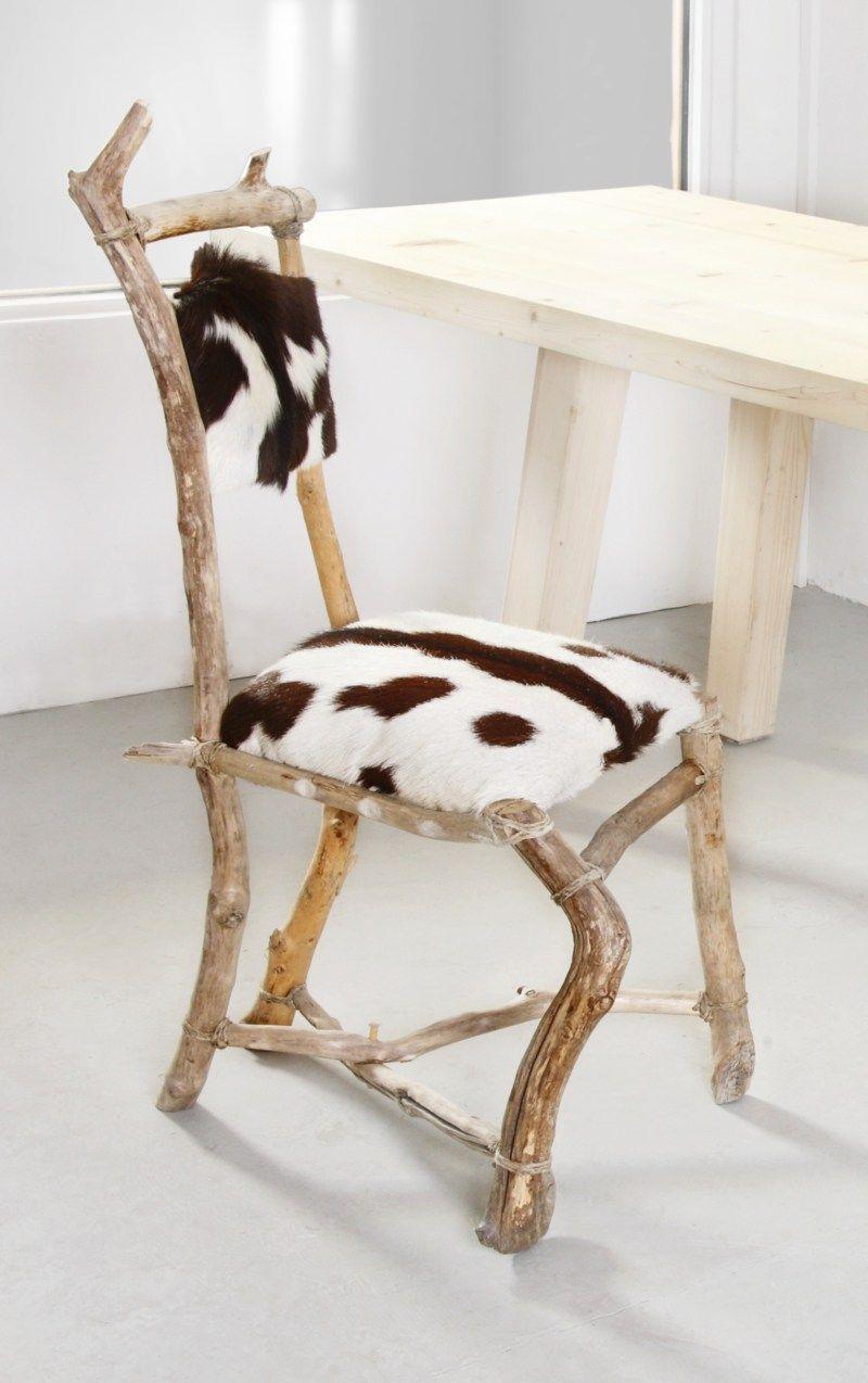 Deko · Origineller Stuhl Aus Treibholz