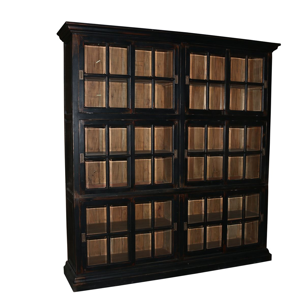 The Display Cabinet With Beveled Glass And Sliding Doors Can Be Used