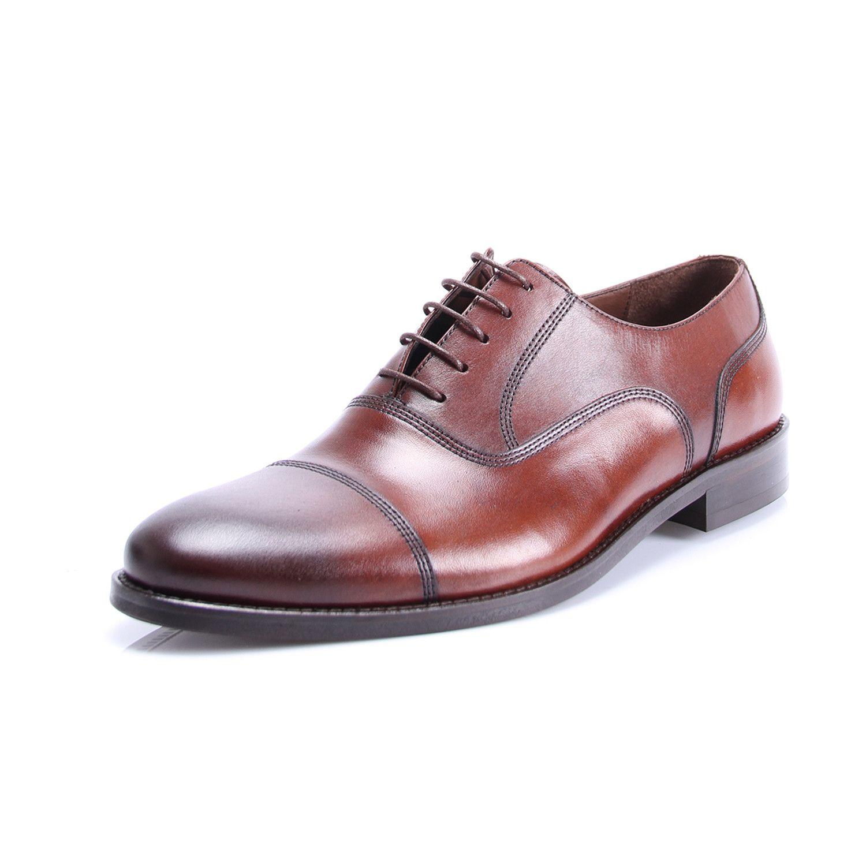 Classic cap toe oxford brown cap toe oxfords brown