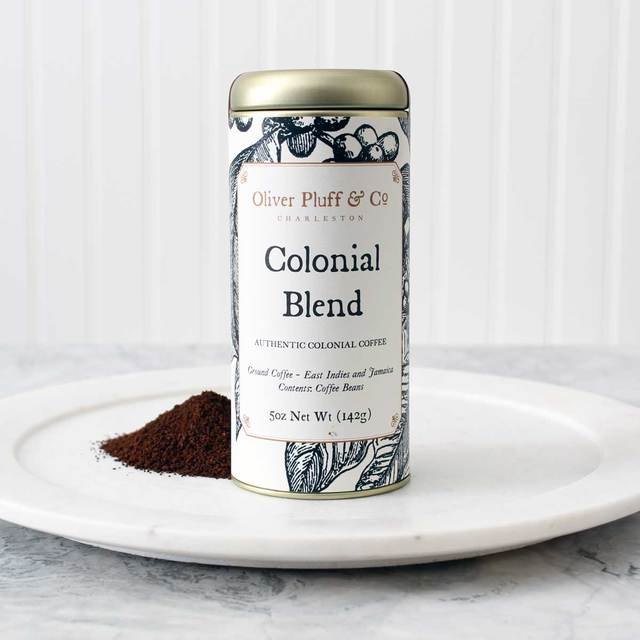 Colonial Blend Ground Coffee Signature Coffee Tin Blended Coffee Coffee Recipes Coffee Tin