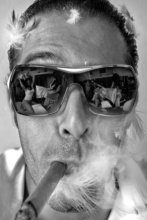 Cigar - reflections.
