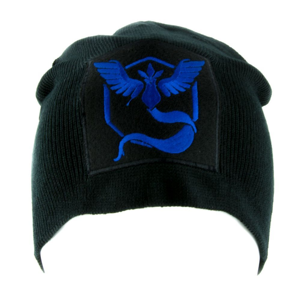 Team Mystic Blue Pokemon Go Beanie Alternative Style Clothing Knit Cap Legendary