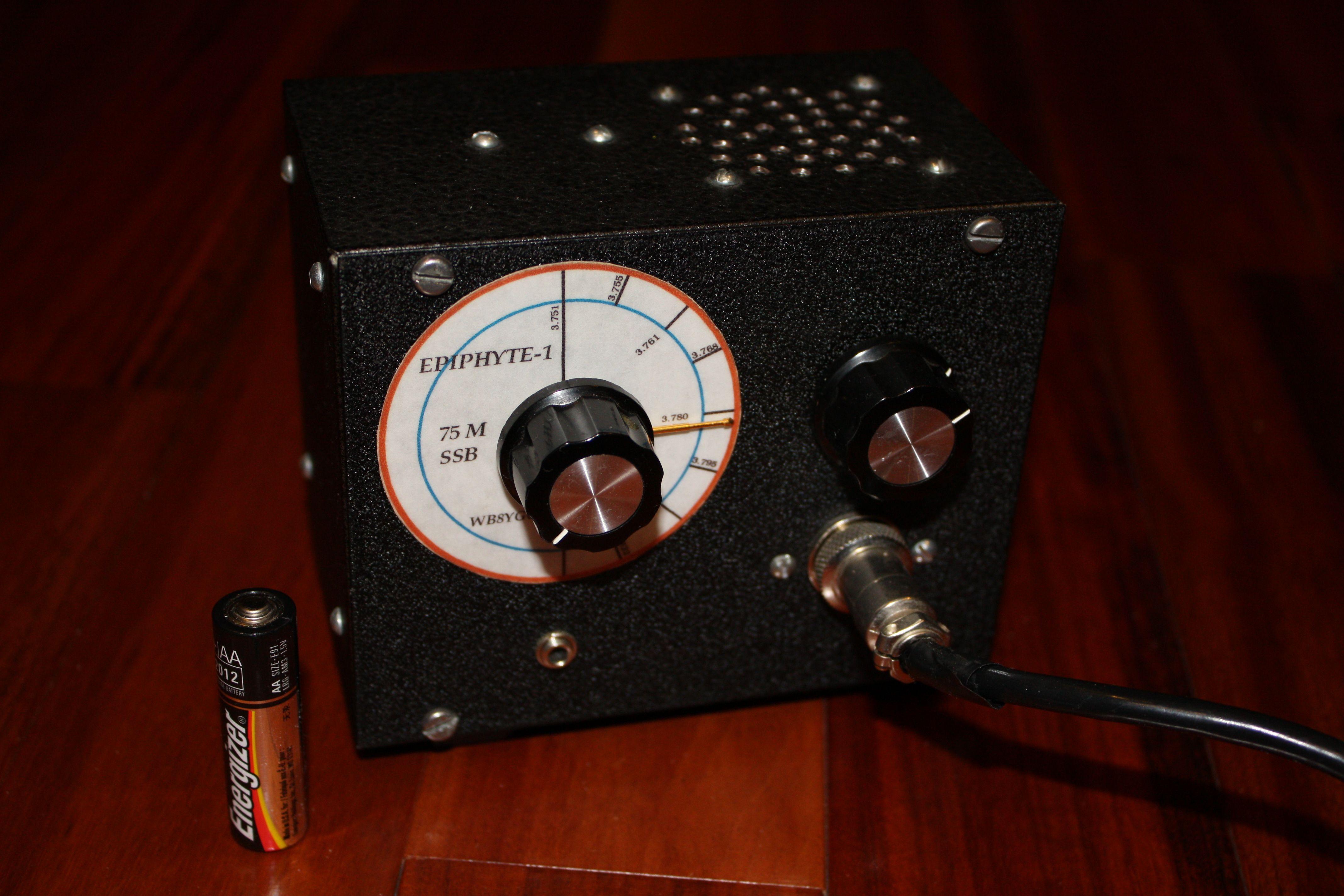 QRP Epiphyte 80 M SSB   Radio at N8YG   Qrp, Mp3 player