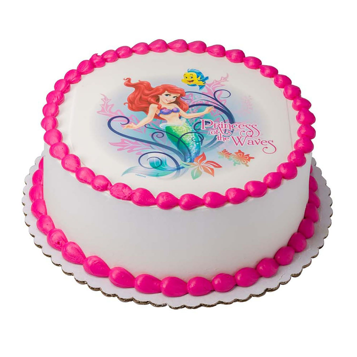 Awesome Disney Princess 10 Round Cake Sams Club With Images Personalised Birthday Cards Veneteletsinfo