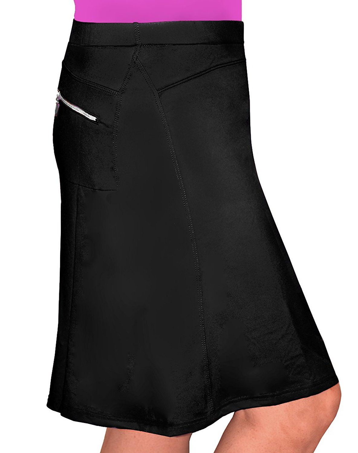 38995b63768 Kosher Casual Women s Modest Knee-Length Workout Sport Skirt With Built-In  Shorts at Amazon Women s Clothing store