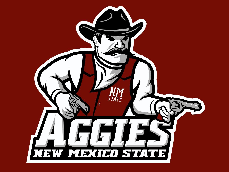 New Mexico State Aggies New Mexico State University New Mexico Sports Team Logos