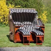 Victorian style garden lounger furniture