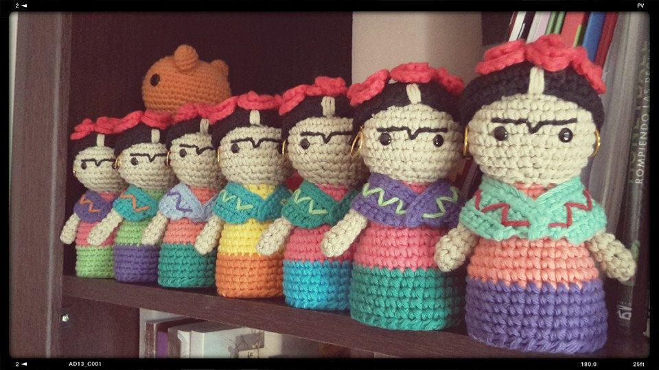 Frida Kahlo patrón crochet/ganchillo por EnamorArteCreaciones ...