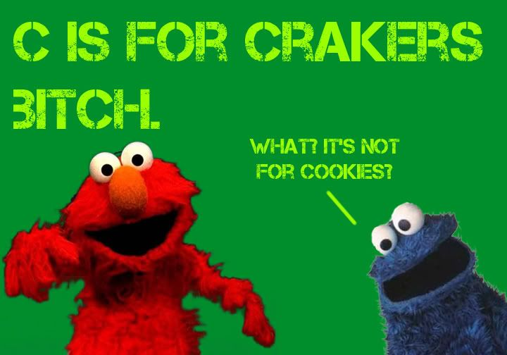Gangsta Elmo And Cookie Monster Elmo Elmo Straight Gangster