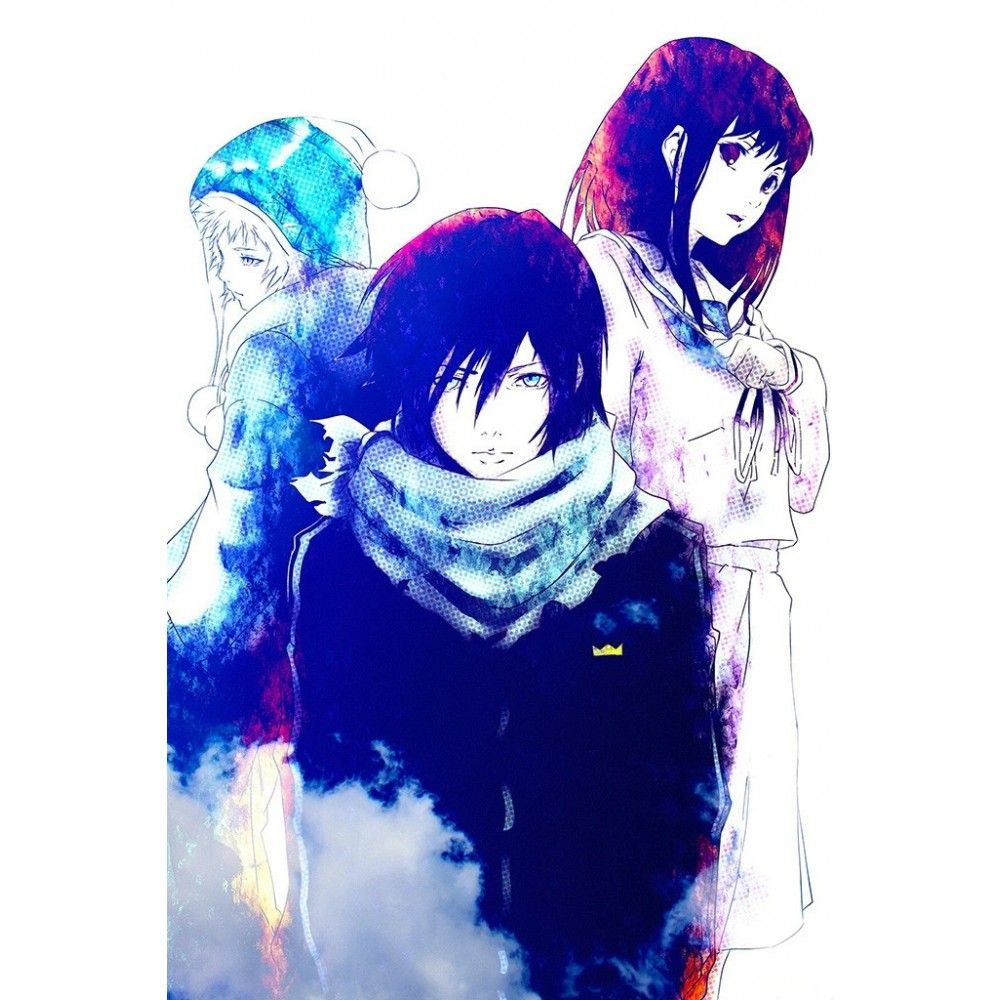 Noragami Anime Art Poster
