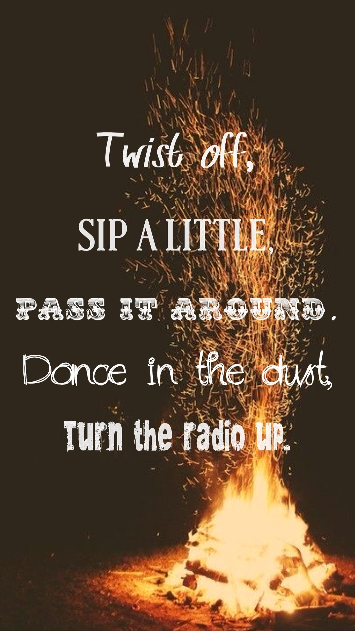 """Love It Florida Style: """"Twist Off, Sip A Little, Pass It Around. Dance In The"""