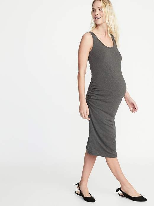 950cf478a3d9c Maternity Bodycon Tank Dress in 2019 | Products | Maternity dresses ...