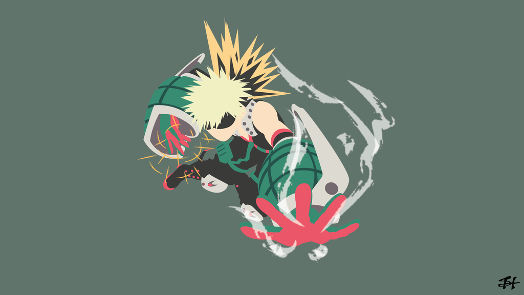 Katsuki Bakugo Bnha Minimalist Wallpaper By Slezzy7 Hero Wallpaper Minimalist Wallpaper Wallpaper Images Hd