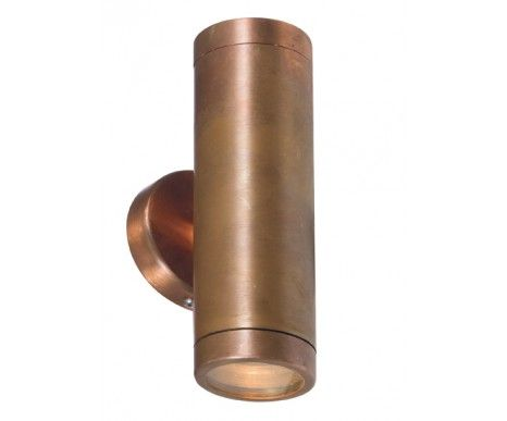 Harbour 2 Light Up Down Wall Bracket In Copper House Lighting Outdoor Copper Lighting Wall Mount Light Fixture