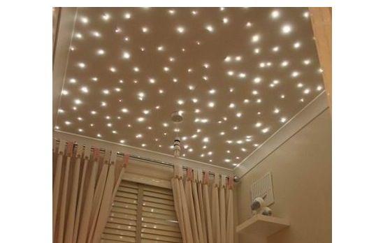 Lights on the ceiling. Loveee it<3