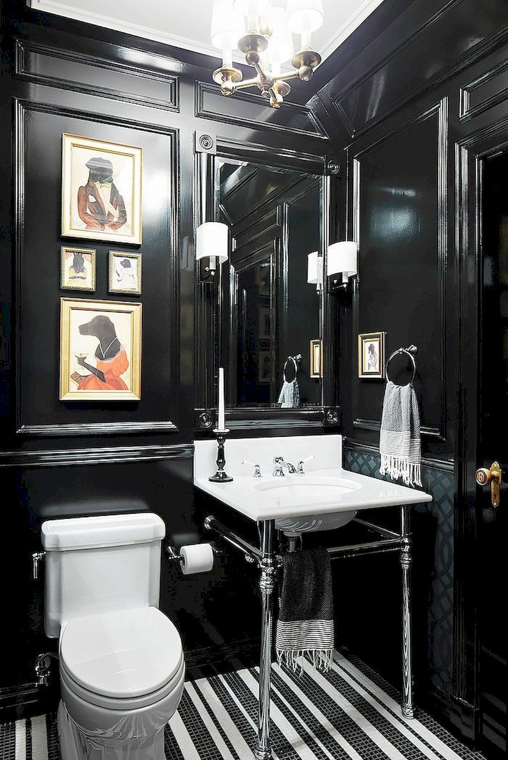 Nice 111 Brilliant Small Bathroom Remodel Ideas On A Budget https://livingmarch.com/111-brilliant-small-bathroom-remodel-ideas-budget/