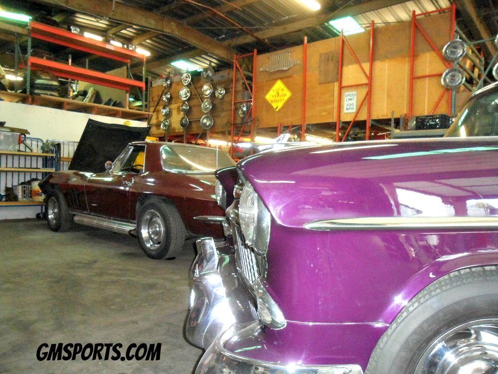 The restoration shop at GM Sports in San Jose, CA. www