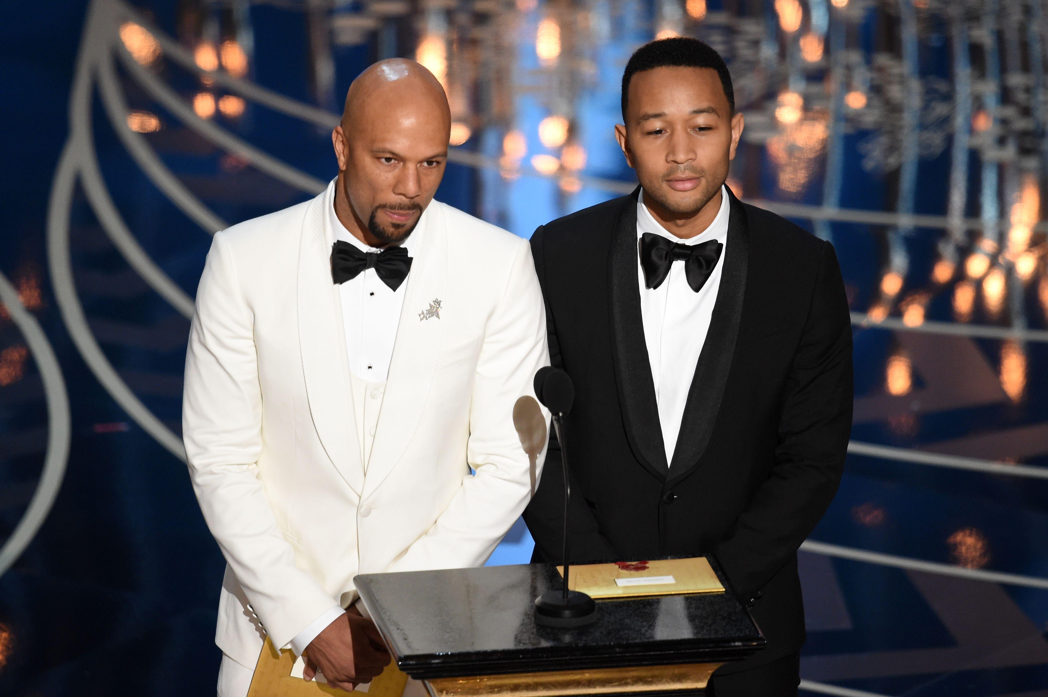 Common, John Legend   88th Academy Awards