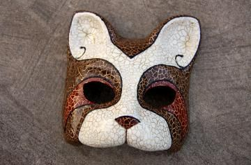 Cat Masquerade Mask by AnotherFace for $39.50