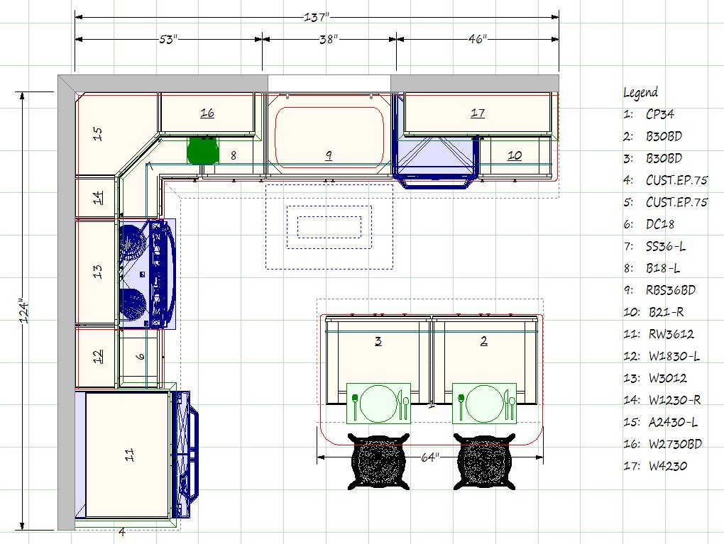 How Much Do Kitchens Cost Kitchen Designs Layout Kitchen Floor