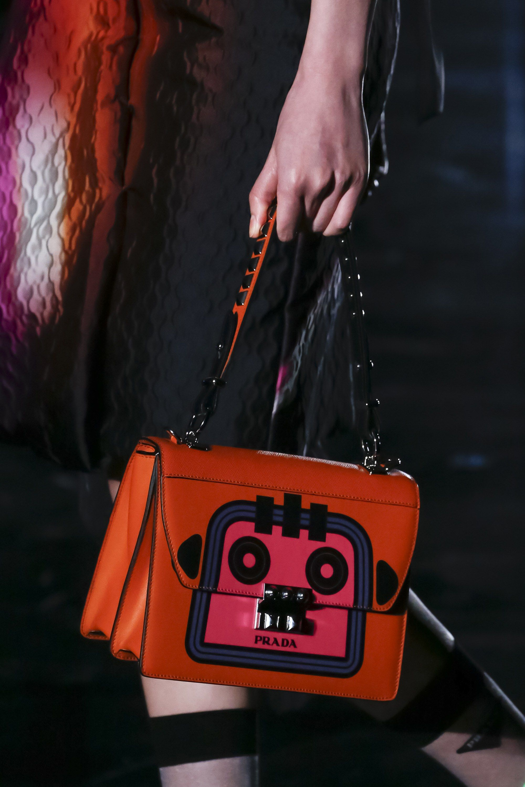 017dab1b5a The complete Prada Fall 2018 Ready-to-Wear fashion show now on Vogue Runway.