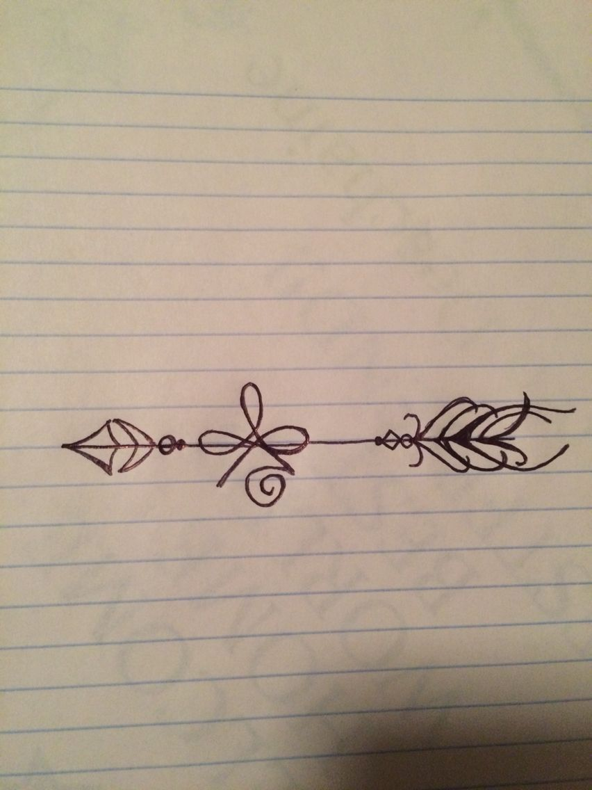 The tattoo i drew up the celtic symbol for strength with an arrow the tattoo i drew up the celtic symbol for strength with an arrow going through it biocorpaavc Choice Image