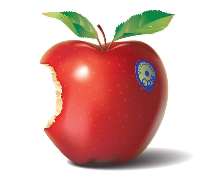 Apple By Rcraighead Apple Vector Apple Clip Art Free Vector Illustration