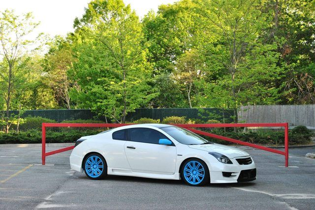 Altima Coupe Custom Blue And Black Vehicles Pinterest