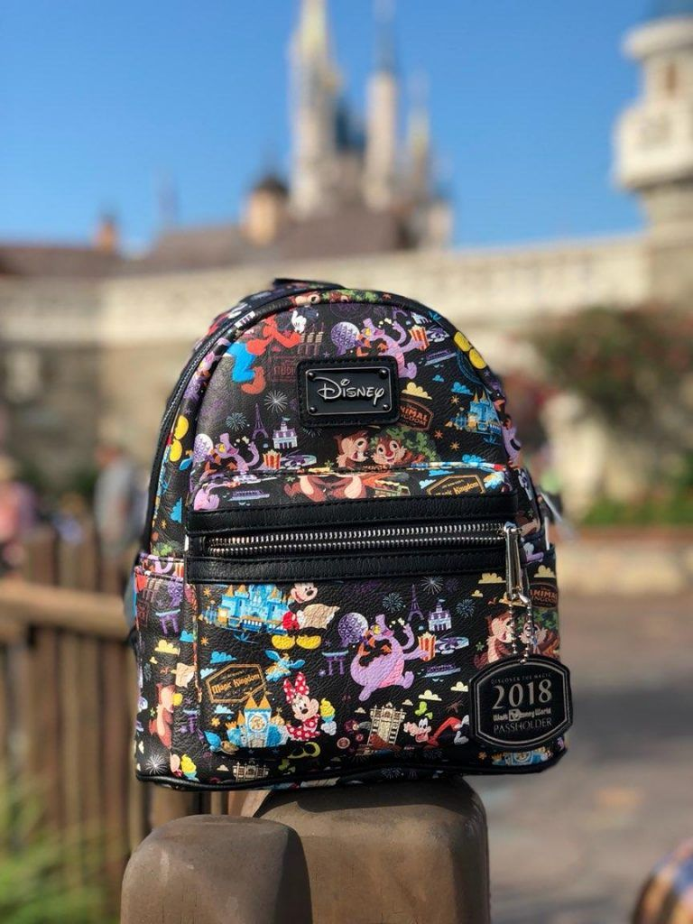 0c9da66ab89 Walt Disney World Annual Passholder Backpack From Loungefly