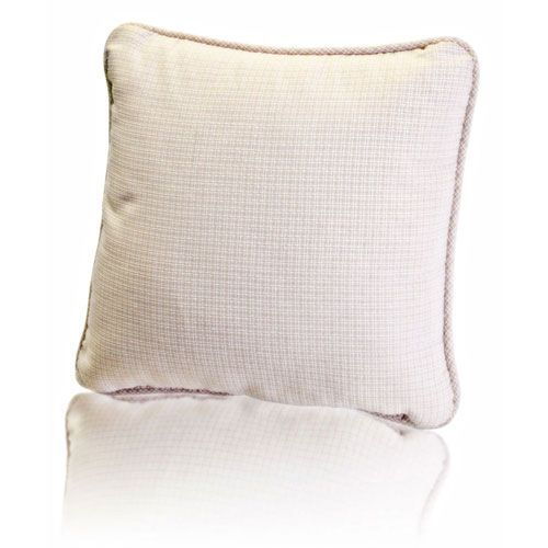 Landis 17-Inch Mini Check Textured Weave Toss Pillow