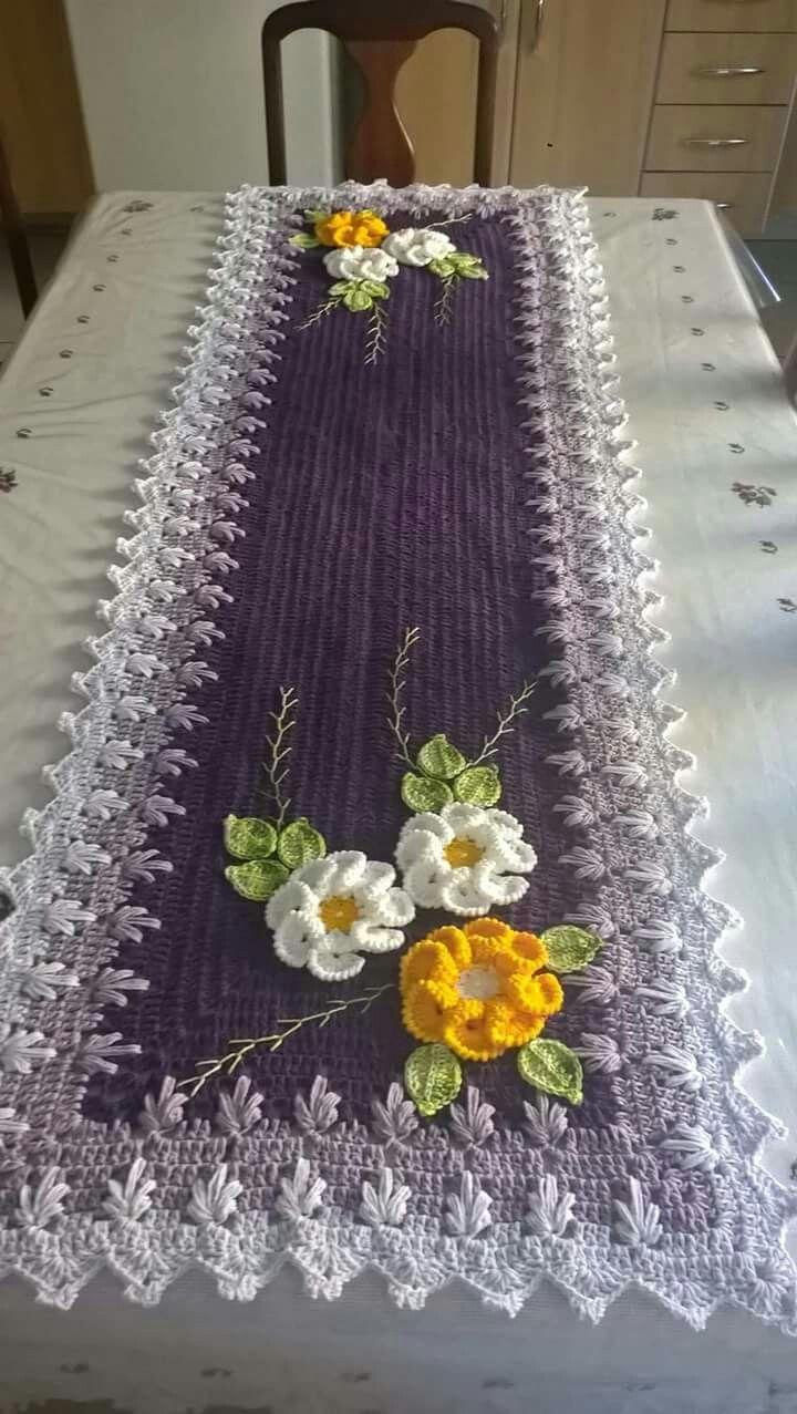 Pin di Judite Jacomini su Cozinha de crochet   Pinterest   Centrini ...
