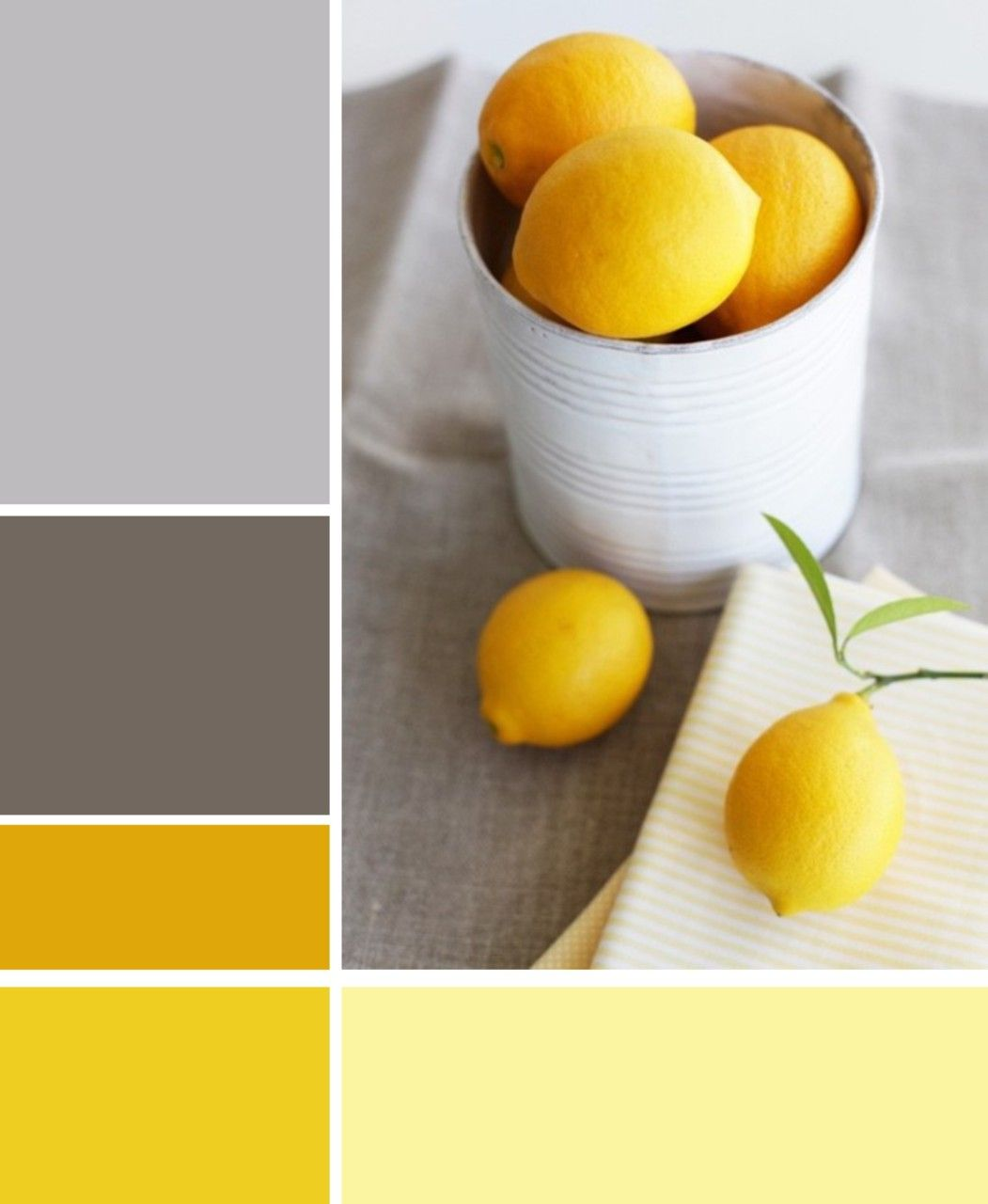 Zitronengelb, Grau Gelb Und Farbe Gelb