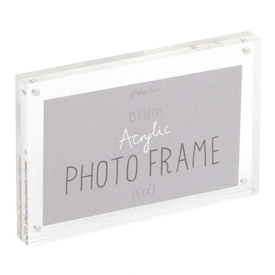 Oliveto clear acrylic photo frame 4x6 | Cute Crap | Pinterest ...