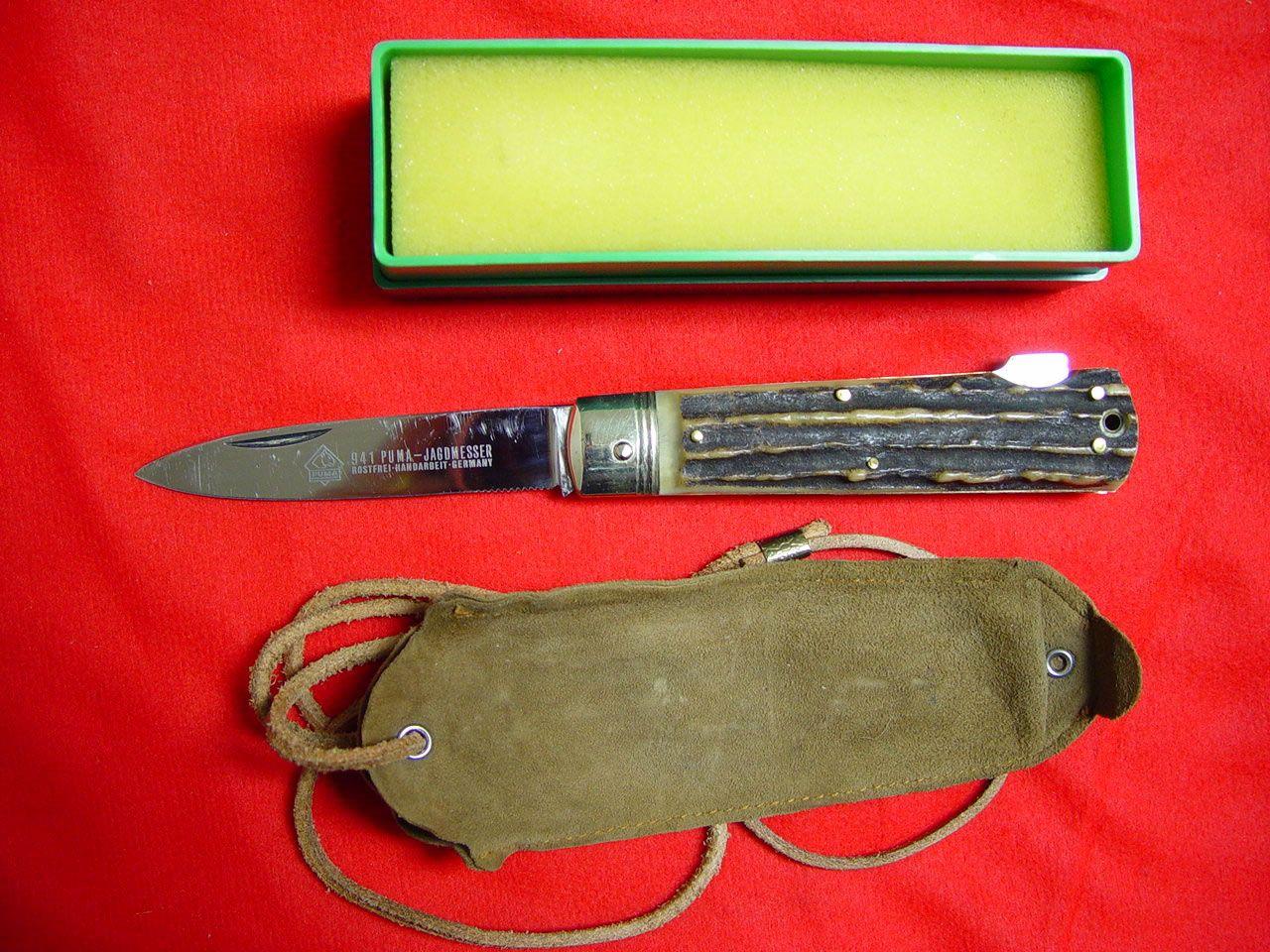 puma jagdmesser knife - Google Search