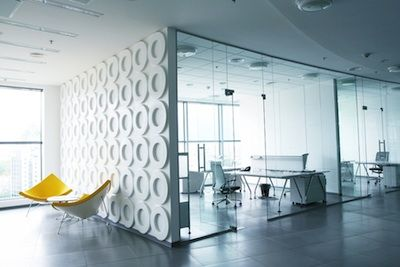 Modern Real Estate Offices In 2014 Will Feature Open Space Designs With Collaborative Work Areas