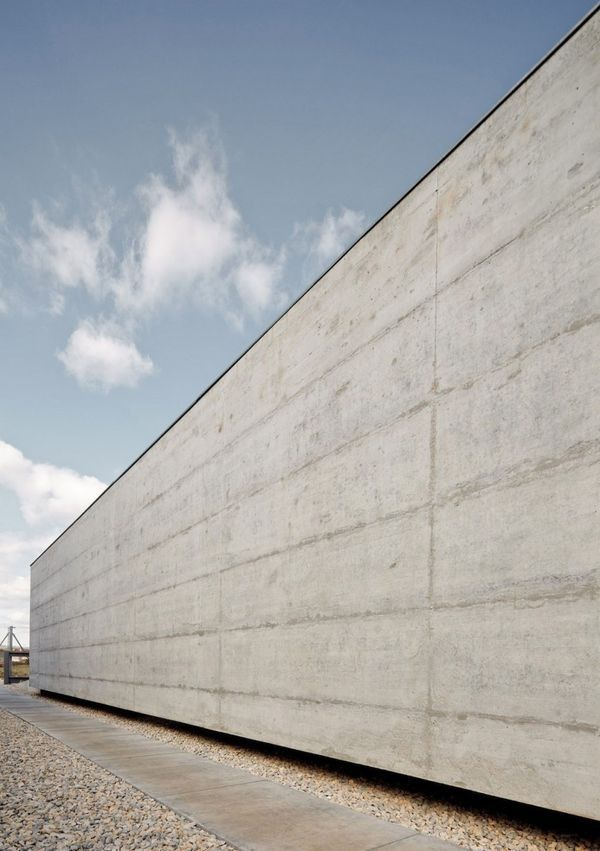 Concrete Wall Flat Roof House Simple House Design House Roof
