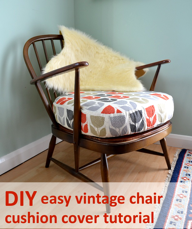 Marvelous Easy Vintage Chair Cushion