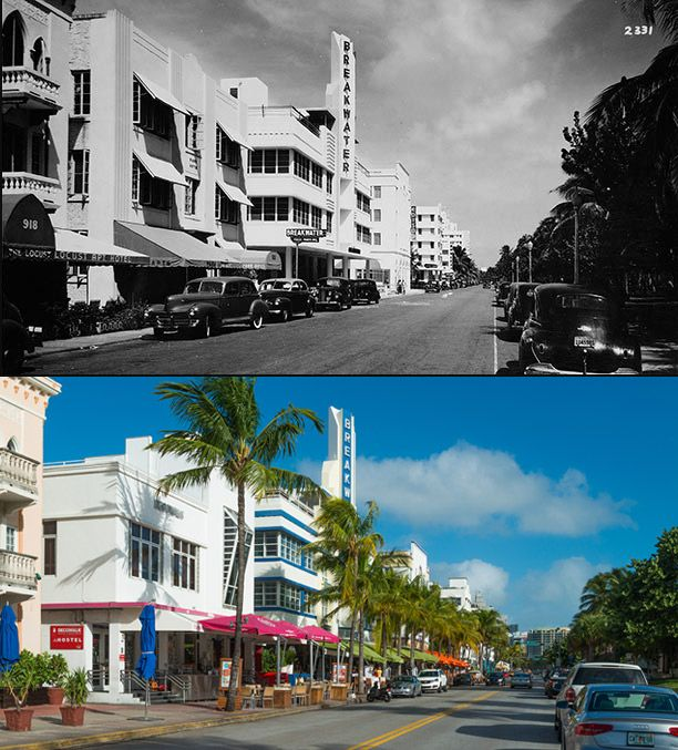 Miami Beach Then Now It Is Simply Put The City Story Of Century For There No Place On Earth Like And Its Size Has