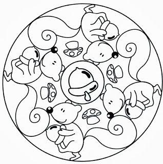 Tardor Autunno Mandala E Disegni Di Mandala Da Colorare