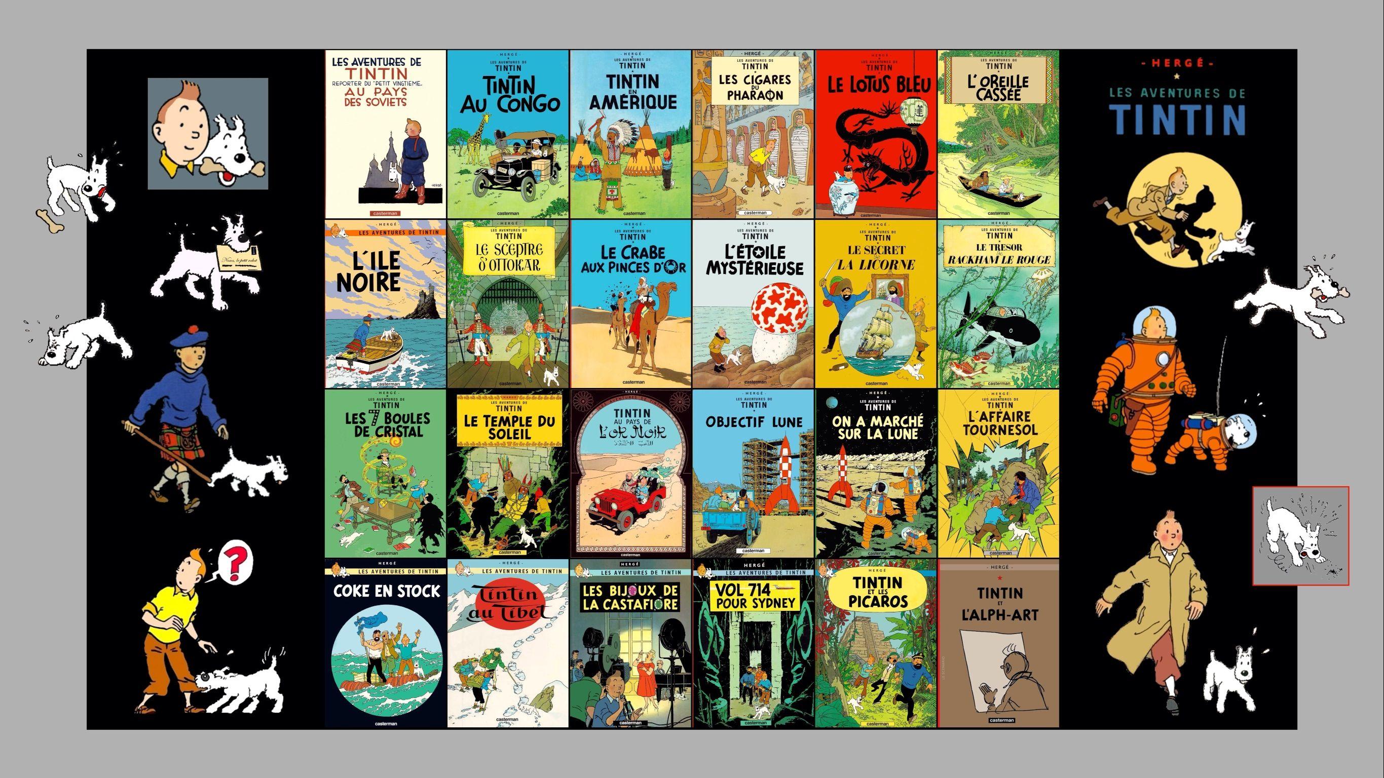 Tintin Site Officiel Fr Tintin Com Site Officiel L Univers De Tintin Des Videos Des Jeux Le Journal De Tintin Fond D Ecran De Livre Tintin Carte Postale