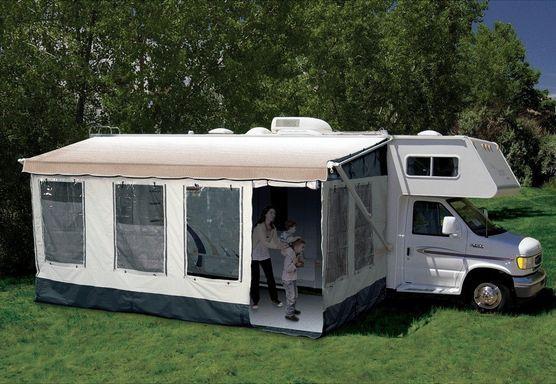 RV Awning Screen Room 20u0027  21u0027 Patio Screened Porch Motorhome Trailer Camper