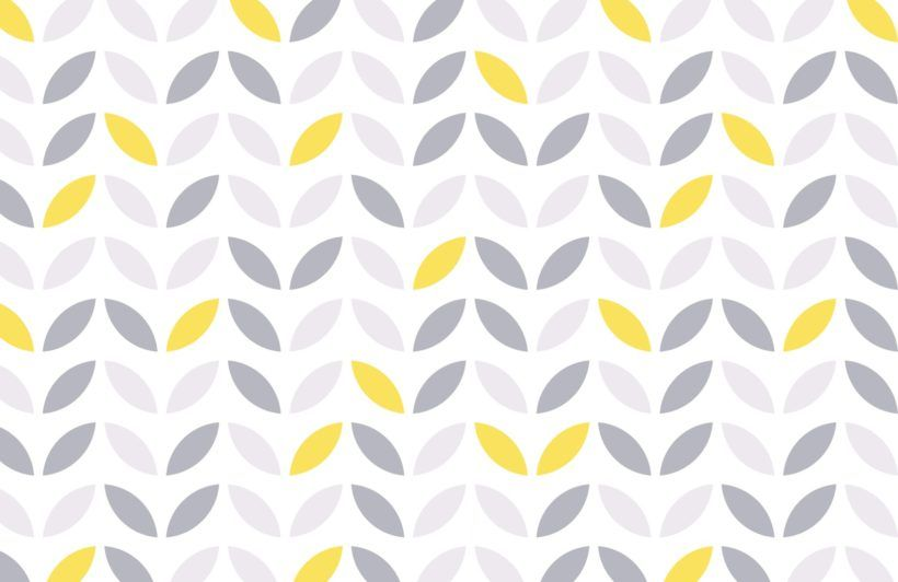 Yellow And Grey Abstract Flower Pattern Wallpaper | Pattern Wallpaper,  Flower Patterns And Wallpaper