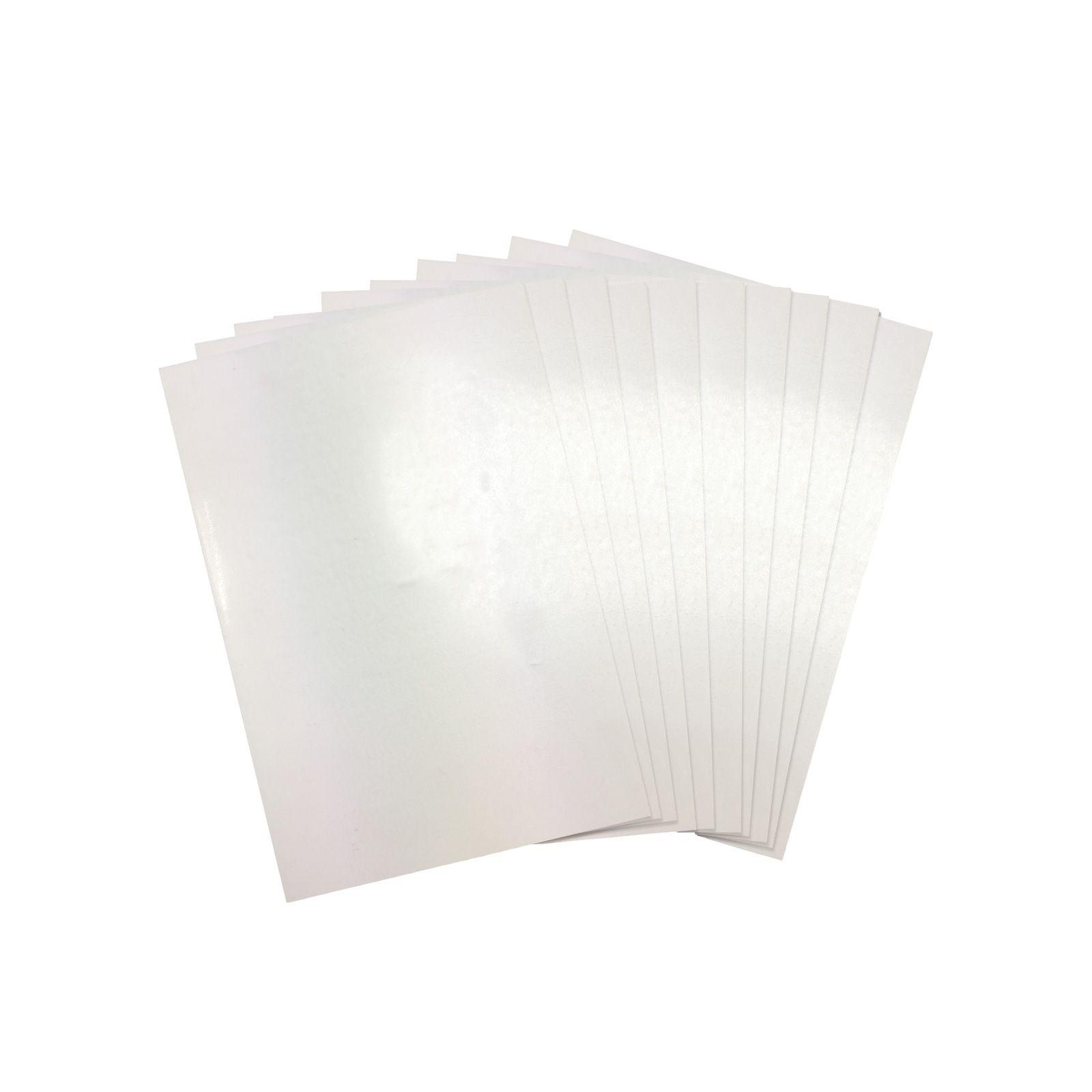 Sizzix Making Essential Shrink Plastic 8 1 2 X 11 10 Sheets Shrink Plastic Shrink Plastic Sheets Craft Supplies