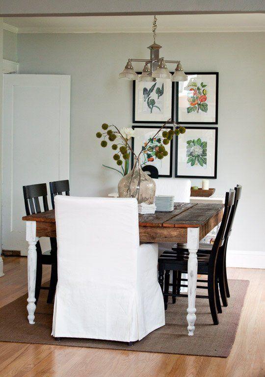 Kirsten Kyles Restored Bungalow Green Tour Dining Room