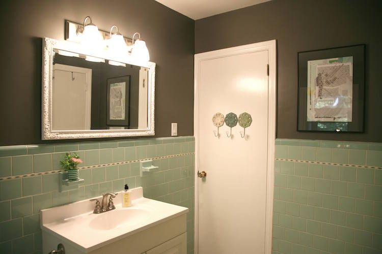 Tout savoir sur la peinture pour carrelage salle de bain -idées et ...