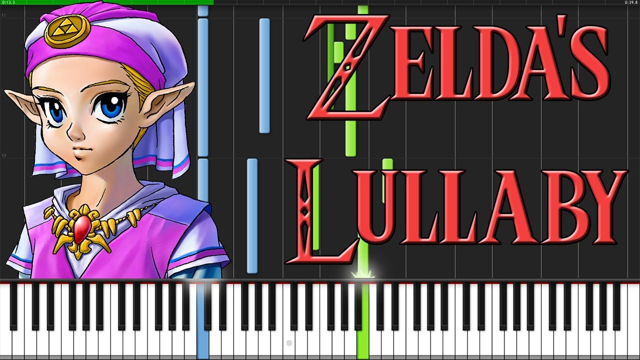 Zelda S Lullaby The Legend Of Zelda Ocarina Of Time Piano